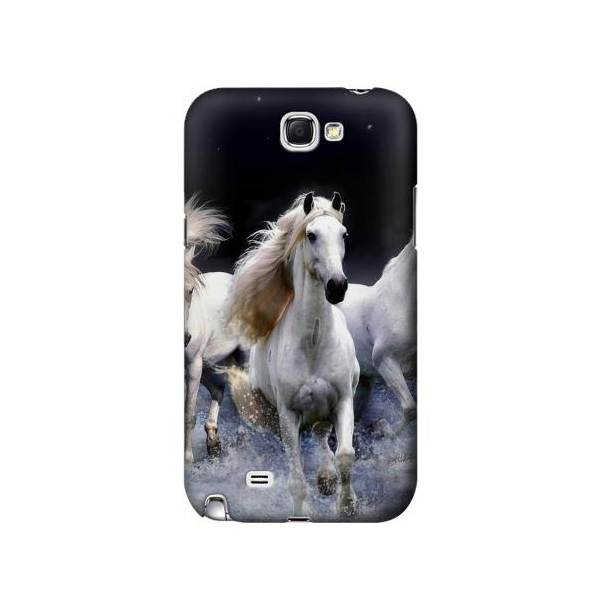 White Horse Phone Case Cover for Samsung Galaxy Note II