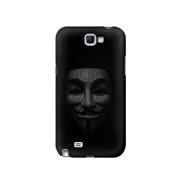 Anonymous mask Phone Case Cover for Samsung Galaxy Note II