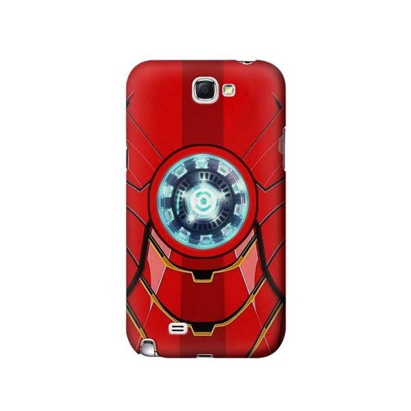 Ironman Armor Arc Reactor Graphic Printed Phone Case Cover for Samsung Galaxy Note II