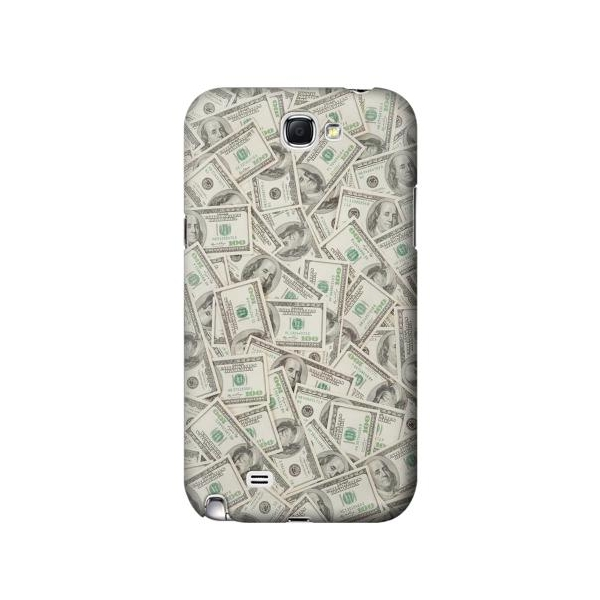 Money Dollar Banknotes Phone Case Cover for Samsung Galaxy Note II