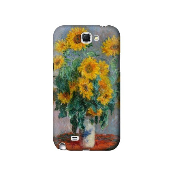 Claude Monet Bouquet of Sunflowers Phone Case Cover for Samsung Galaxy Note II