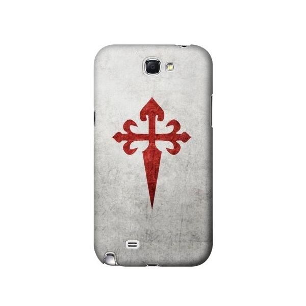 Order of Santiago Cross of Saint James Phone Case Cover for Samsung Galaxy Note II