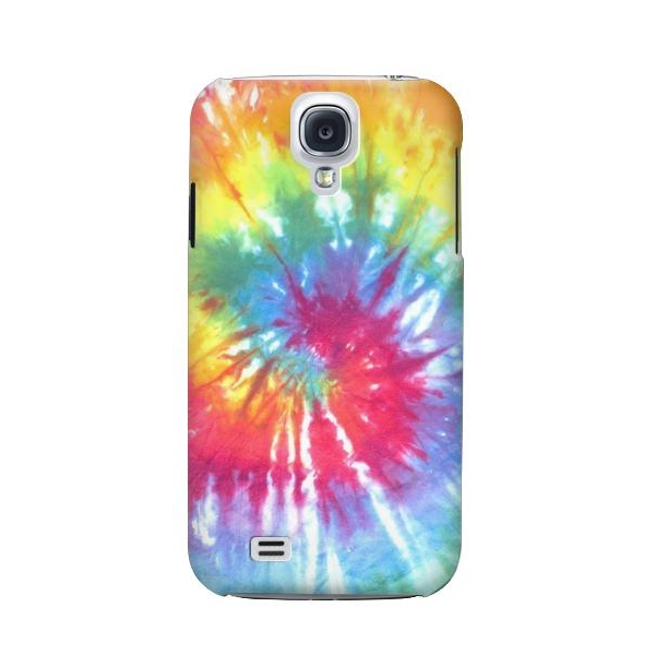 Tie Dye Colorful Graphic Printed Phone Case Cover for Samsung Galaxy S4