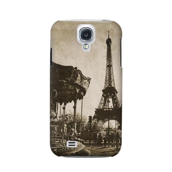 Eiffel Tower Vintage Paris Phone Case Cover for Samsung Galaxy S4