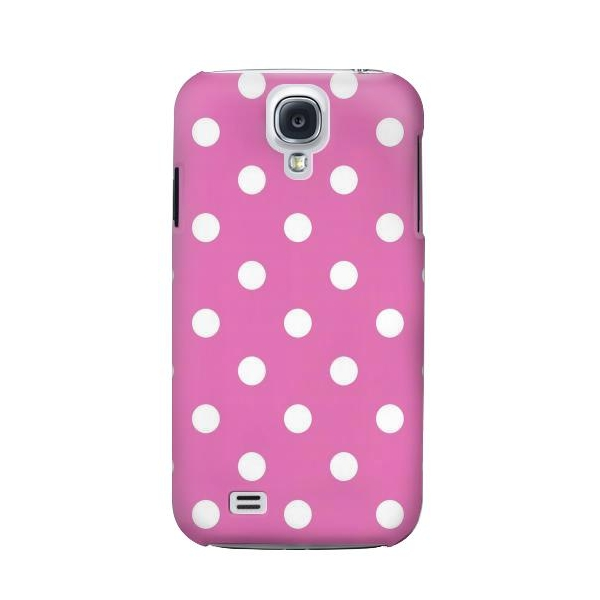 Pink Polka Dots Phone Case Cover for Samsung Galaxy S4