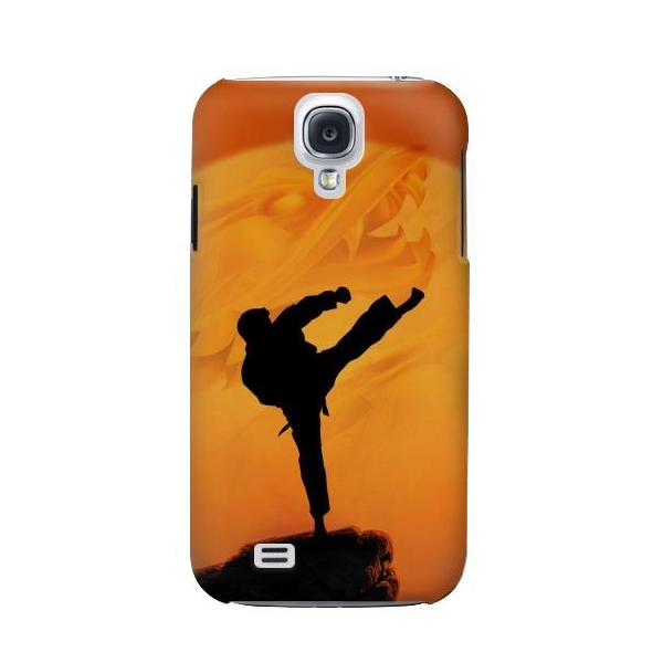 Kung Fu Karate Fighter Phone Case Cover for Samsung Galaxy S4