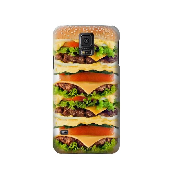 Hamburger Phone Case Cover for Samsung Galaxy S5
