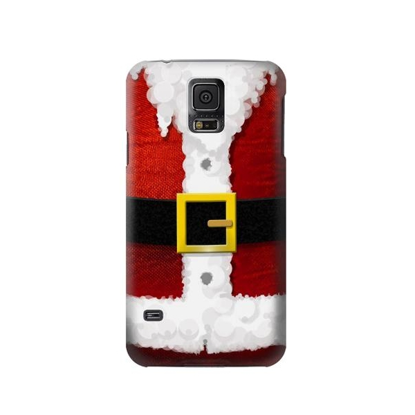 Christmas Santa Red Suit Phone Case Cover for Samsung Galaxy S5