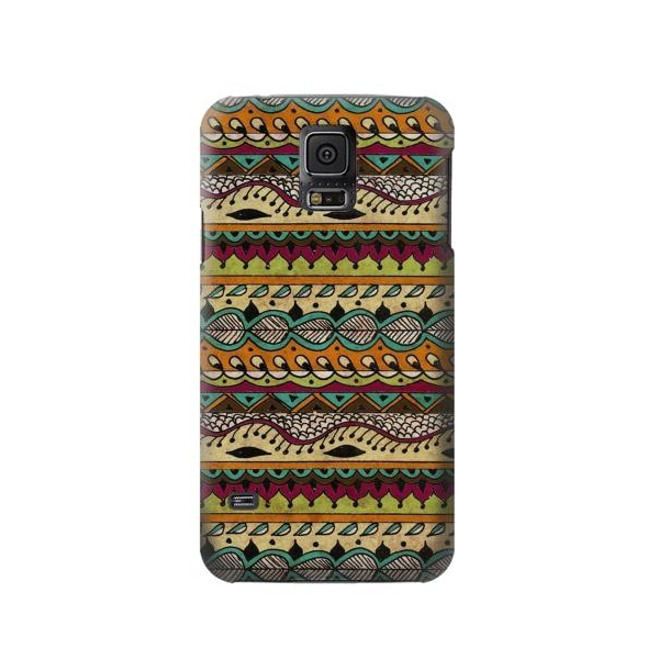Aztec Boho Hippie Pattern Phone Case Cover for Samsung Galaxy S5