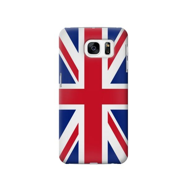 Flag of The United Kingdom Phone Case Cover for Samsung Galaxy S7