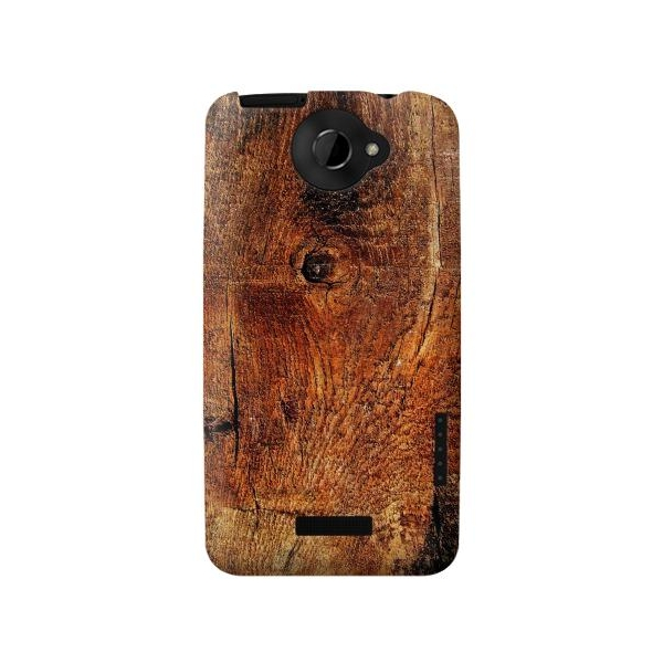 Wood Skin Graphic Phone Case Cover for HTC One X