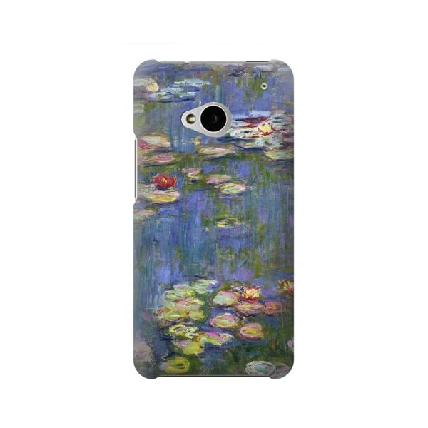 Claude Monet Water Lilies Phone Case Cover for HTC One M7