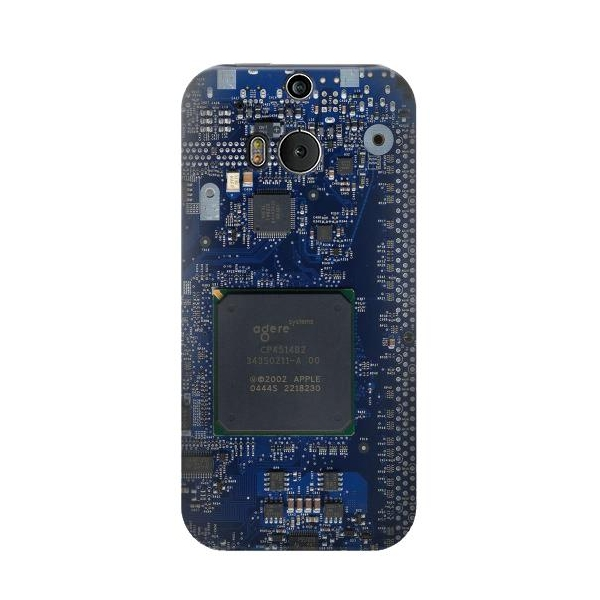 Board Circuit Phone Case Cover for HTC One M8