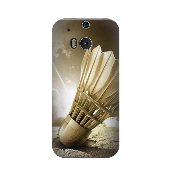 Badminton Sport Art Phone Case Cover for HTC One M8