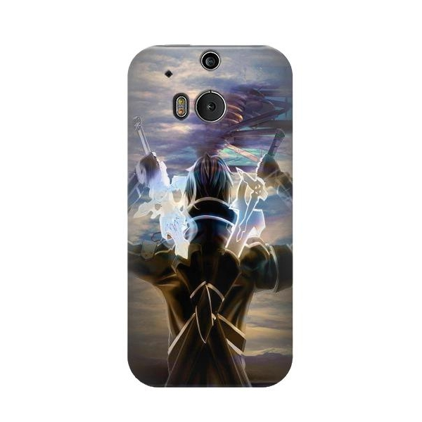Sword Art Online Kirito Phone Case Cover for HTC One M8