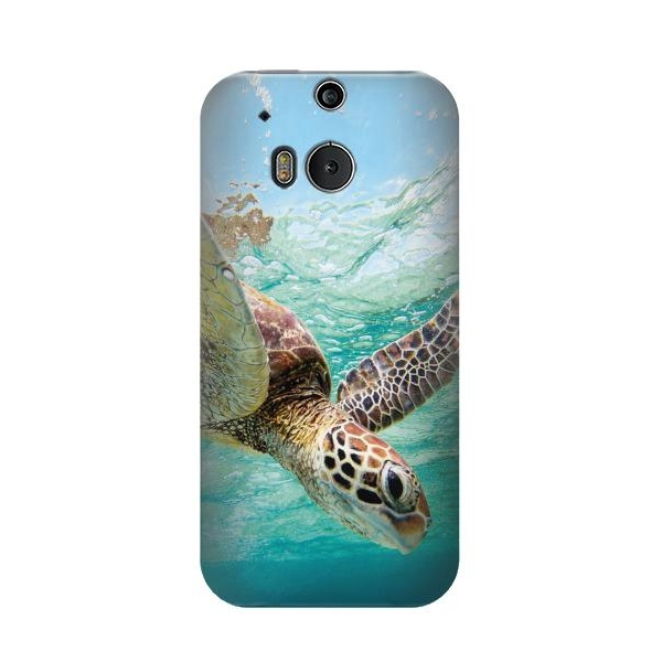 Ocean Sea Turtle Phone Case Cover for HTC One M8