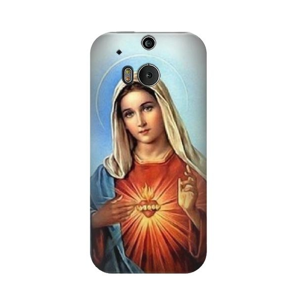 The Virgin Mary Santa Maria Phone Case Cover for HTC One M8