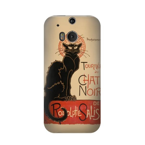 Chat Noir The Black Cat Phone Case Cover for HTC One M8