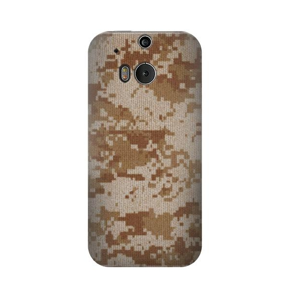 Desert Digital Camouflage Phone Case Cover for HTC One M8