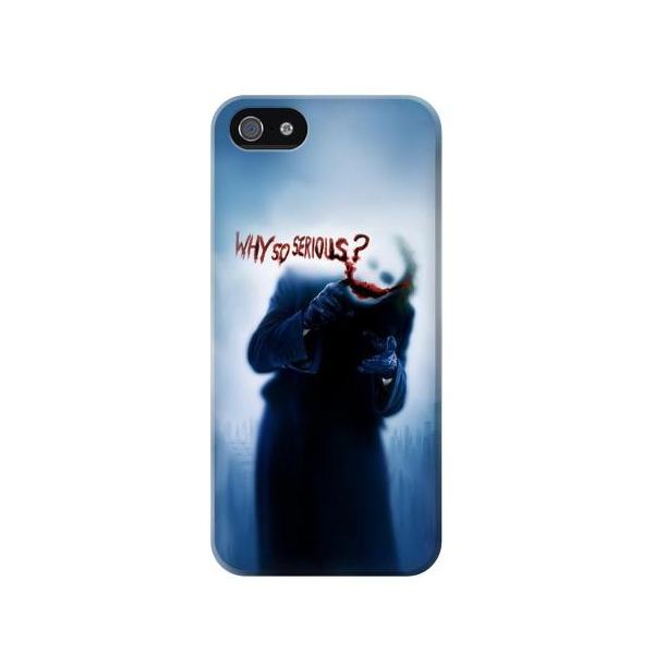 Batman Joker Why So Serious Phone Case Cover for iPhone 5c
