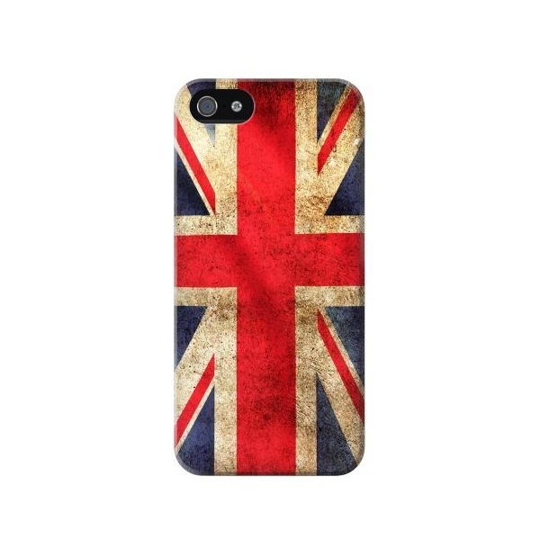 British UK Vintage Flag Phone Case Cover for iPhone 5c