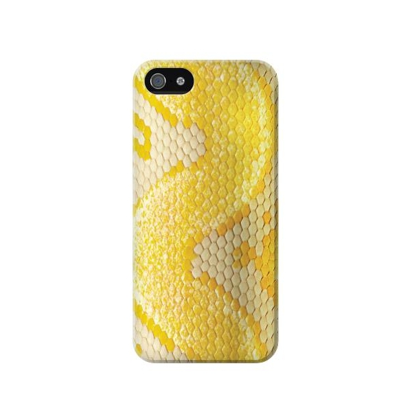 Yellow Snake Skin Phone Case Cover for iPhone 5c