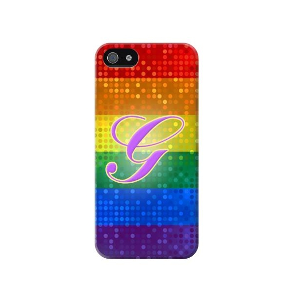 Rainbow Gay Pride Flag Device Phone Case Cover for iPhone 5c