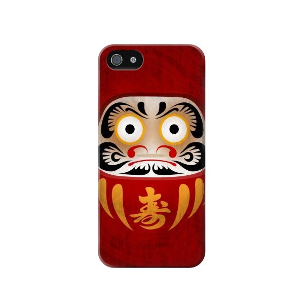 Japan Good Luck Daruma Doll Phone Case Cover for iPhone 5c