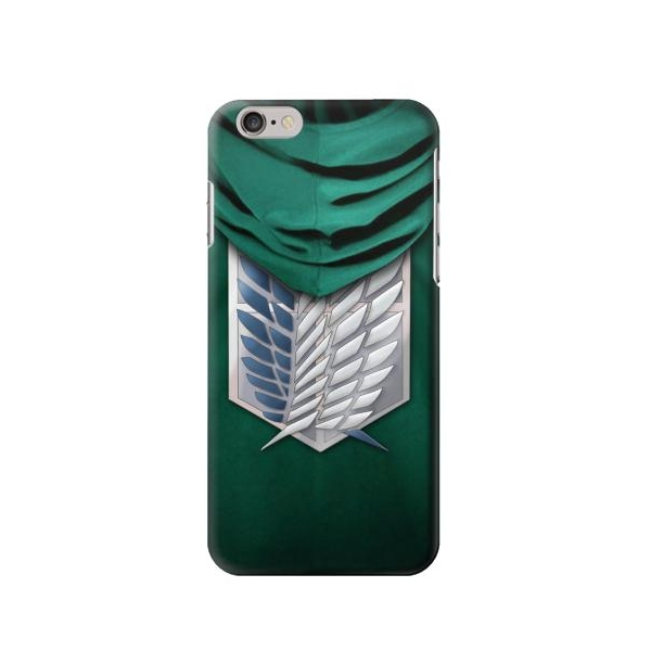 Attack on Titan Scouting Legion Rivaille Green Cloak Case