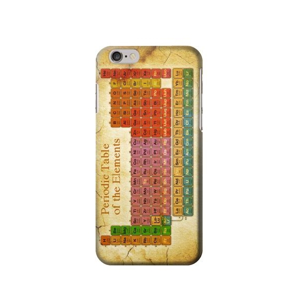 Vintage Periodic Table of Elements Phone Case Cover for iPhone 6 Plus/iPhone 6s Plus