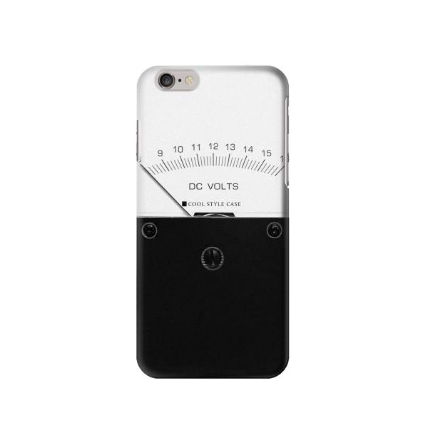 DC Analog Voltmeter Phone Case Cover for iPhone 6/iPhone 6s