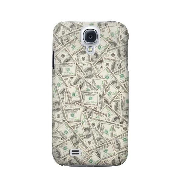 Money Dollar Banknotes Phone Case Cover for Samsung Galaxy S4 Mini