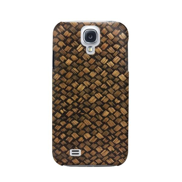 Thai Bamboo Wickerwork Phone Case Cover for Samsung Galaxy S4 Mini