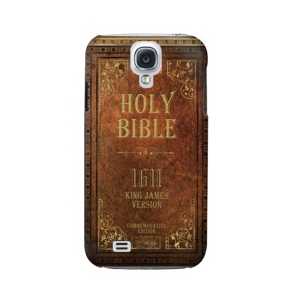 Holy Bible 1611 King James Version Phone Case Cover for Samsung Galaxy S4 Mini