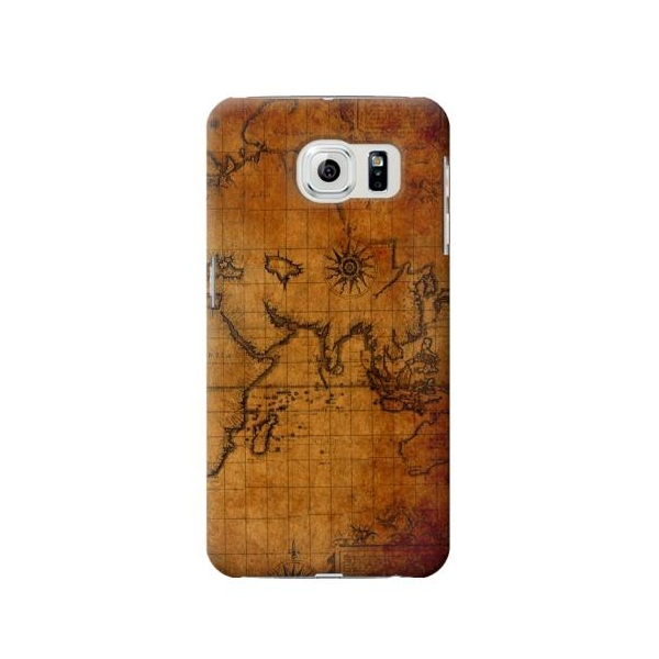 Old Map Phone Case Cover for Samsung Galaxy S6 edge