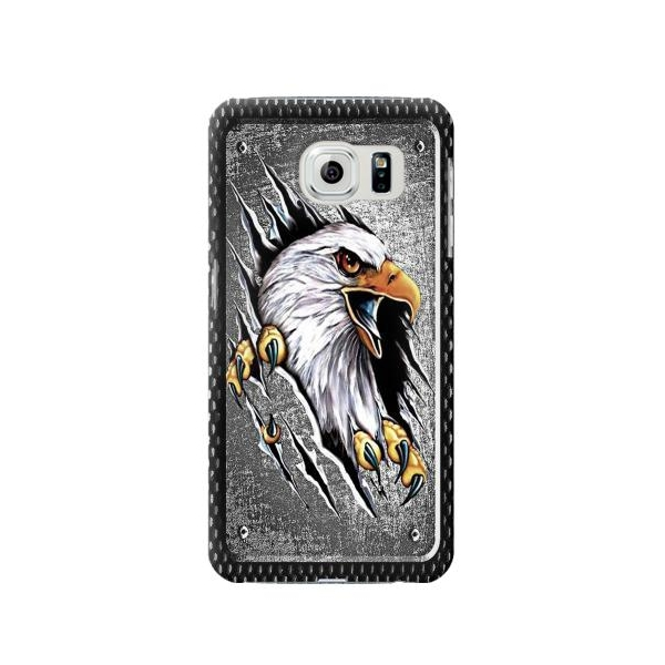 Eagle Metal Phone Case Cover for Samsung Galaxy S6 edge