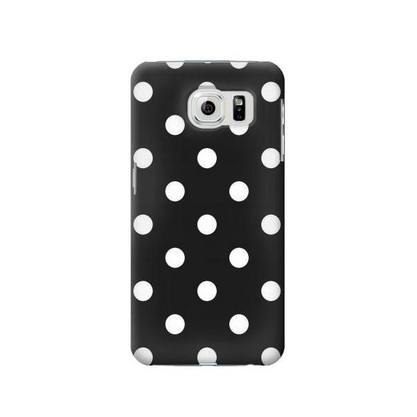 Black Polka Dots Phone Case Cover for Samsung Galaxy S6 edge