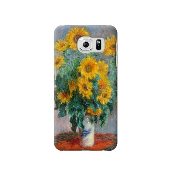 Claude Monet Bouquet of Sunflowers Phone Case Cover for Samsung Galaxy S6 edge