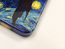 Photo Van Gogh Starry Nights IPHONE 5 Case Front Zoom In